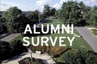 AU quad, alumni survey
