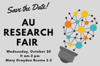 Save the Date for AU Research Fair