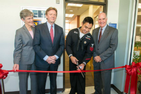 OCL Veterans Lounge ribbon cutting