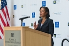 Amb. Susan Rice at the School of International Service