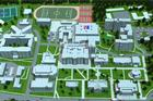 3D Virtual Campus Map Graphic
