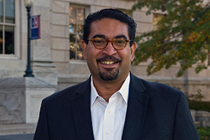 CAS professor Colin Saldanha is chair of the Biology Department and a member of the Center for Behavioral Neuroscience.