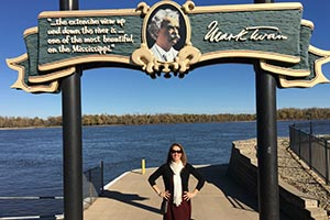 Melissa Scholes Young's new novel explores Hannibal, Missouri, the boyhood home of Mark Twain.