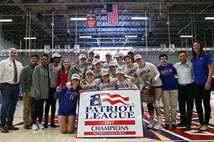 2017 Women's Volleyball Patriots League winners