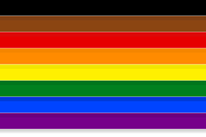 Black LGBTQ flag