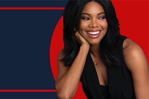 Actress Gabrielle Union for Kennedy Political Union speaking event.