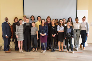 Group shot of global health competitions winners