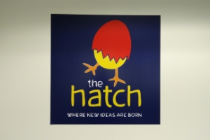Students gather to study and socialize at The Hatch