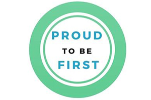 Proud to Be First logo
