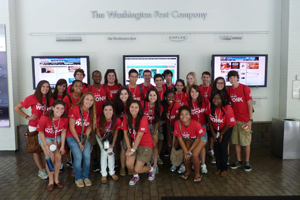 SOC Students at The Washington Post