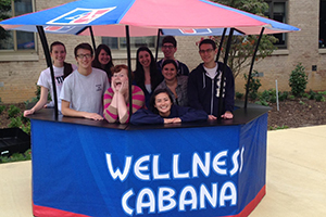 The Wellness Cabana student crew