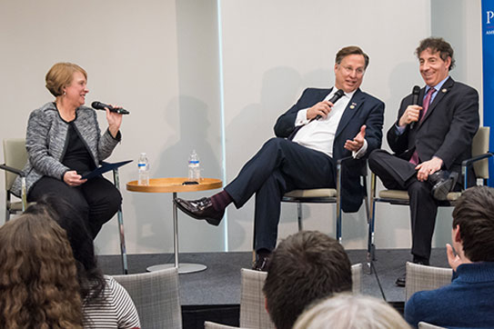Center for Congressional and Presidential Studies Hosts Bipartisan Conversation