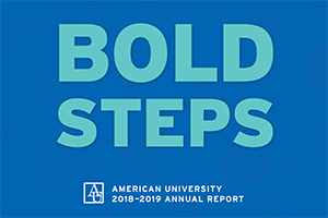 Bold Steps American University Annual Report 2018-19
