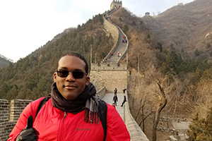 Robert Boyd on Great Wall of China