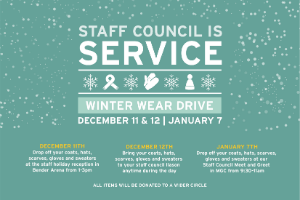 Winter Wear Drive logo