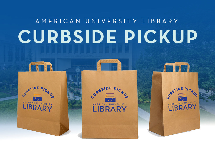 Library Curbside Pickup Banner