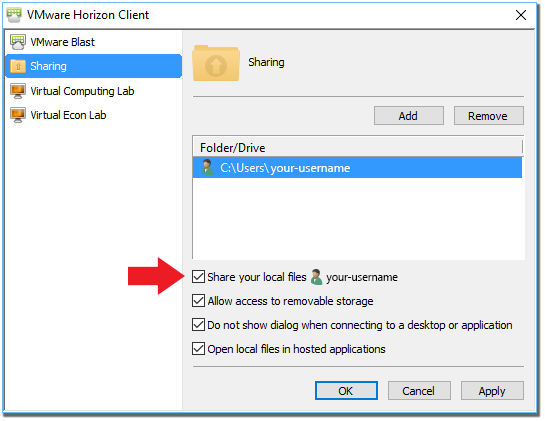 Step 8: Sharing Settings